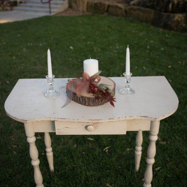 Ceremony Table-cream