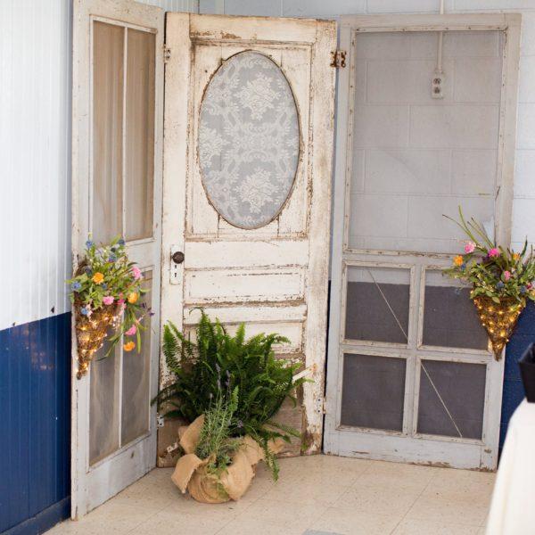 Whie Screen Door #2