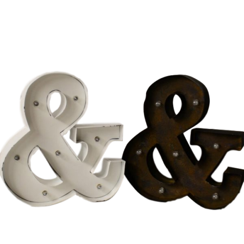 Ampersand Light Up