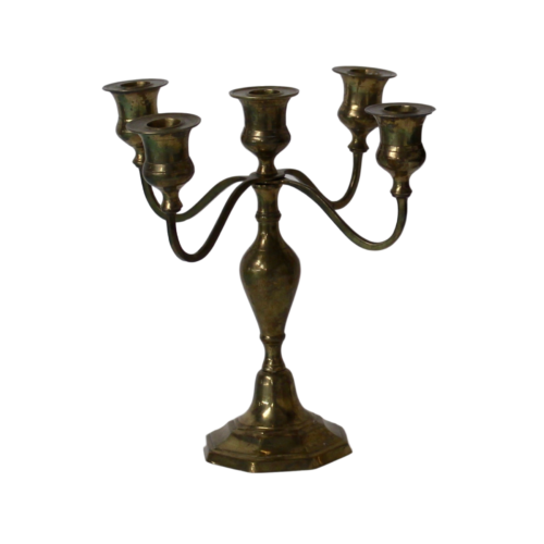 Candelabra - Ruby Gold