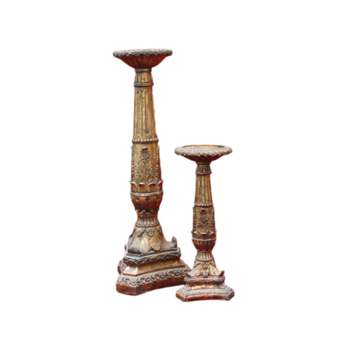 Candleholder - Gold Ornate