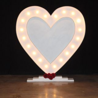 Romeo 6ft Heart Marquee