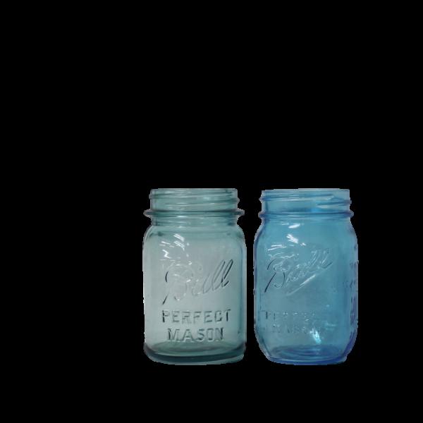 Mason Jar - Blue Pint