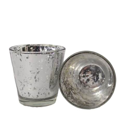 Votive Holder - Silver Mercury