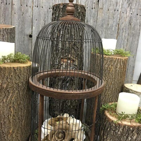Bird Cage - Antique Wooden