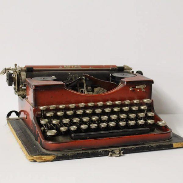 Typewriter - Orange