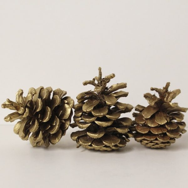 Gold Pinecone
