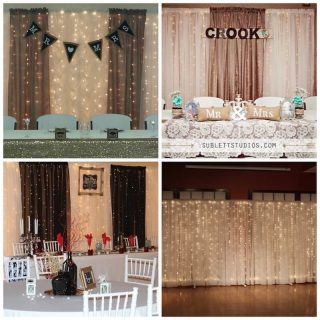 Lighted Backdrop-8ft