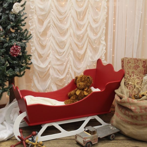 Kids Red Sleigh