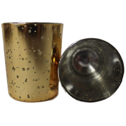 Votive Holder - Gold Mercury