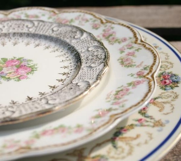 Mismatched China - Dinner Plate