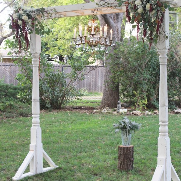 Porch Post Ladder Arbor