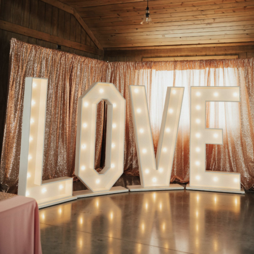 6ft LOVE Marquee