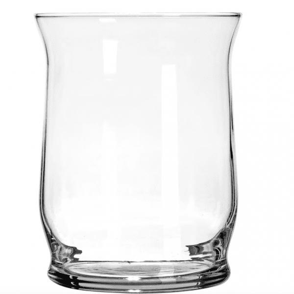 """Clear Glass Hurricane Cylinder -  4"""""""