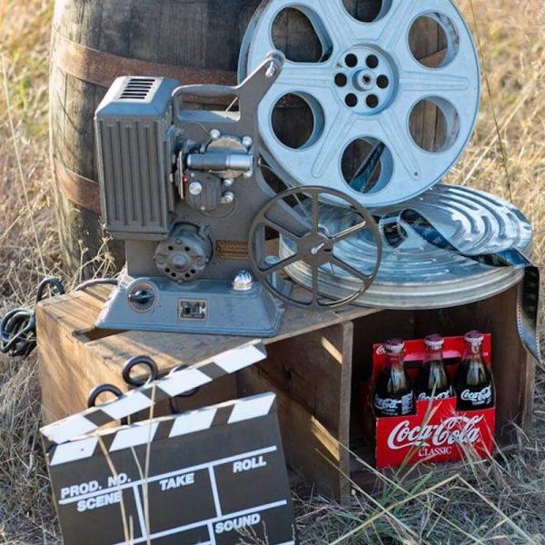 Movie Projector & Reels Set
