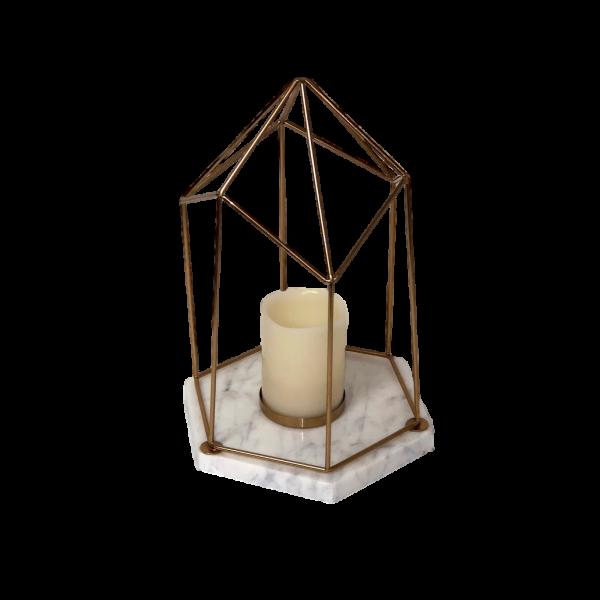 Lantern - Marble Geo SM