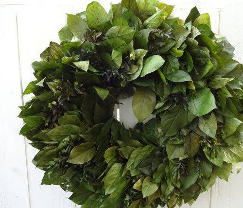 Wreath - Lemon Leaf