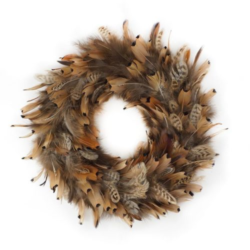 Wreath - Pheasant Feathers