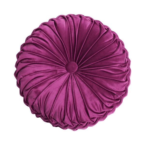 Pillow - Magenta Round