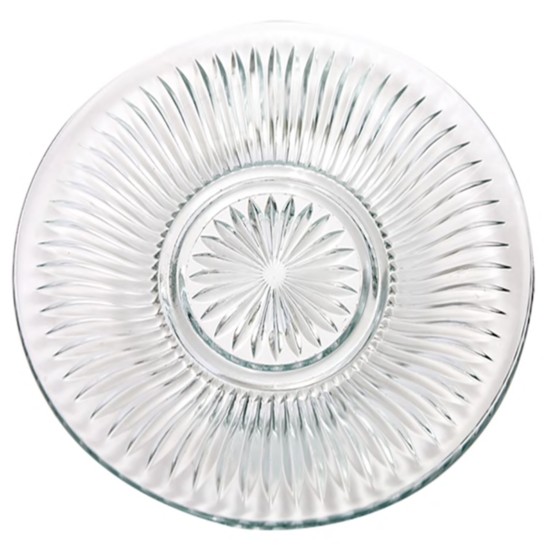 Plate - Crystal Cut Salad
