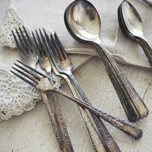 Flatware - Tarnished Silver