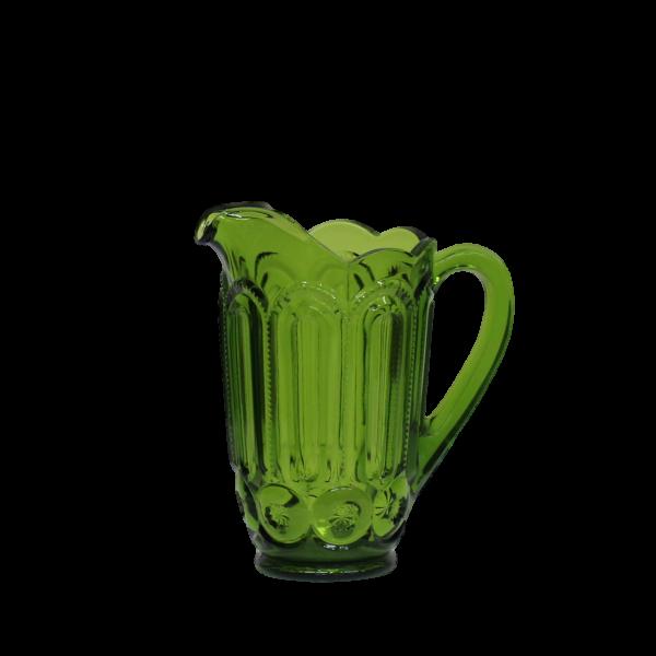 Pitcher - Green Glass